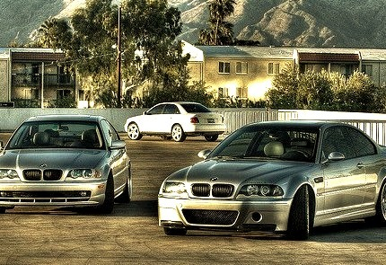 BMW M3 and Audi A4