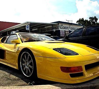 Koenig Ferrari Testarossa Widebody