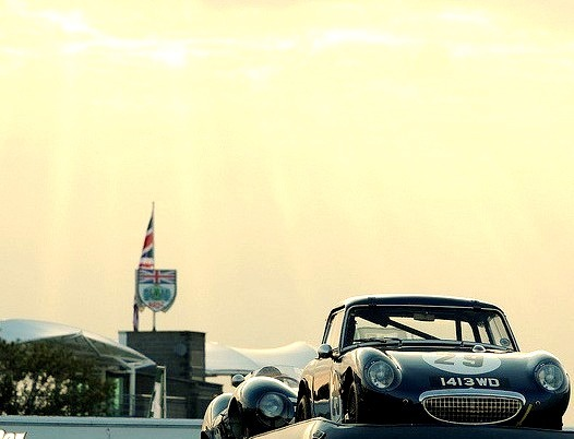 61 Austin Healey Sprite & D-Type Jaguar