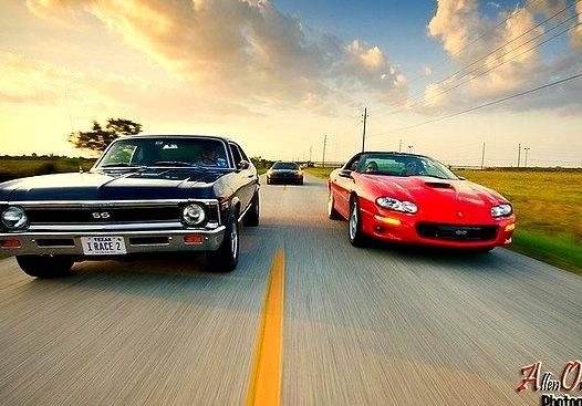 Chevrolet Camaro, Nova SS and Corvette Z06