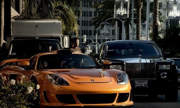 Gemballa Mirage GT and Rolls Royce Phantom