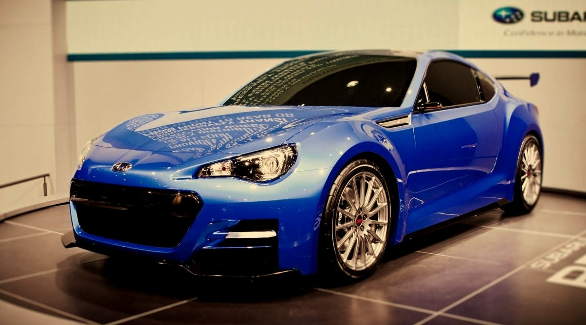 Subaru BRZ Concept Car