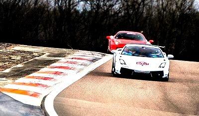 Lamborghini Gallardo and Ferrari 458