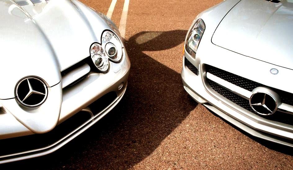 Mercedes-Benz SLR McLaren & SLS AMG