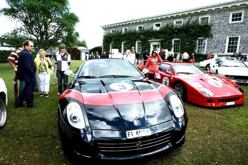 Ferrari 599, F40 and 288