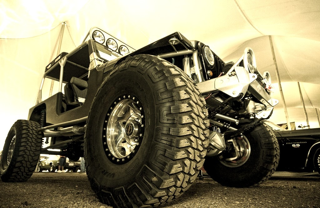 Crazy Custom Jeep