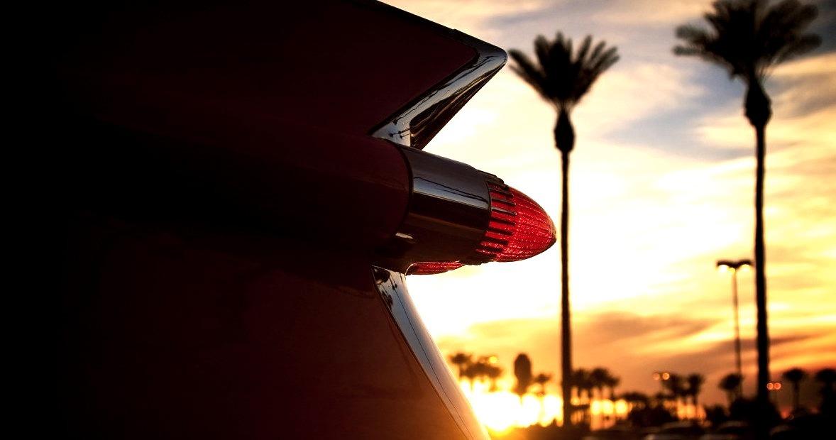 1959 Cadillac Coupe de Ville Taillight