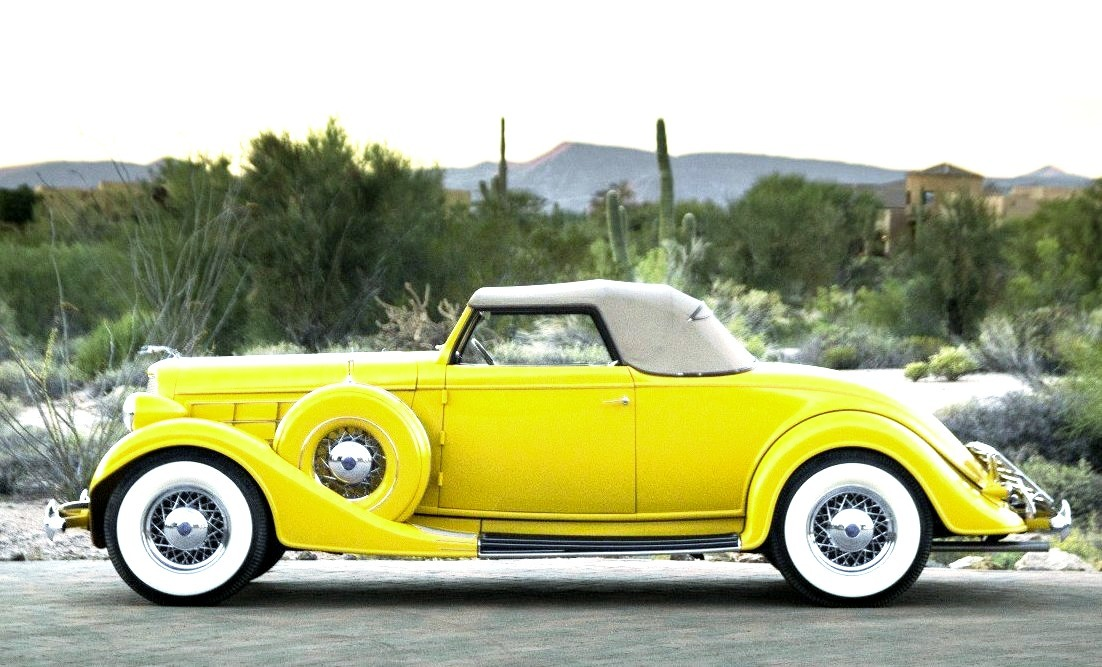 1935 Lincoln Model K Convertible Roadster by LeBaron