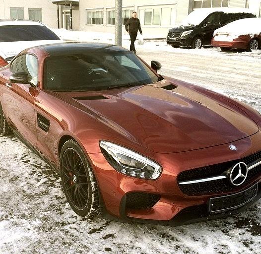Mercedes-Benz AMG GT (Instagram @ryazantsef)