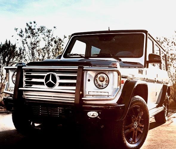 Mercedes-Benz G 550 (Instagram @fjmercedes)